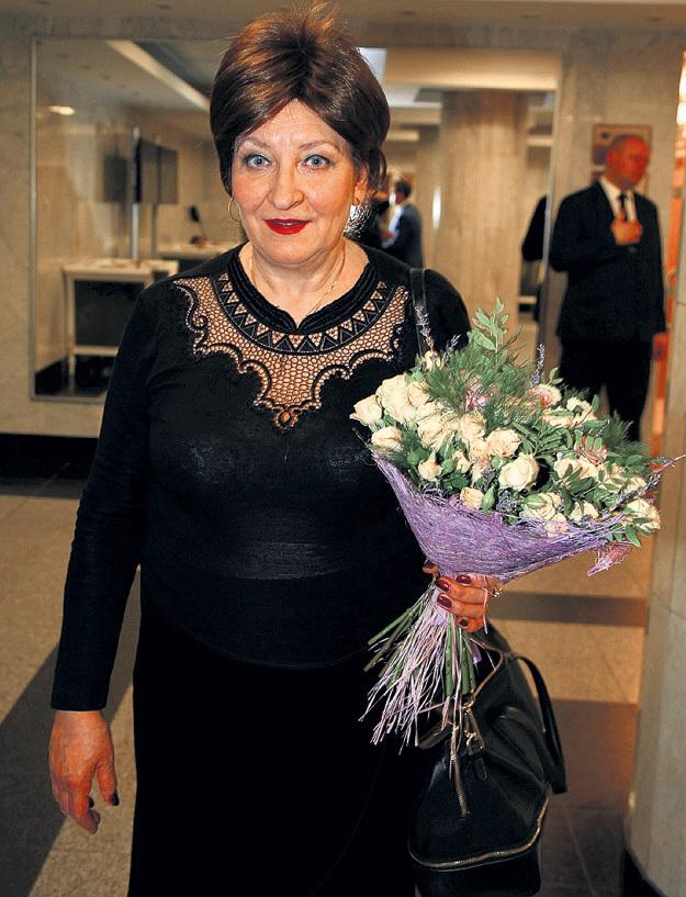 Вдова певца Анна ЕСЕНИНА