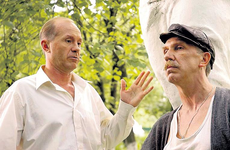 С Андреем ПАНИНЫМ в «Журове»