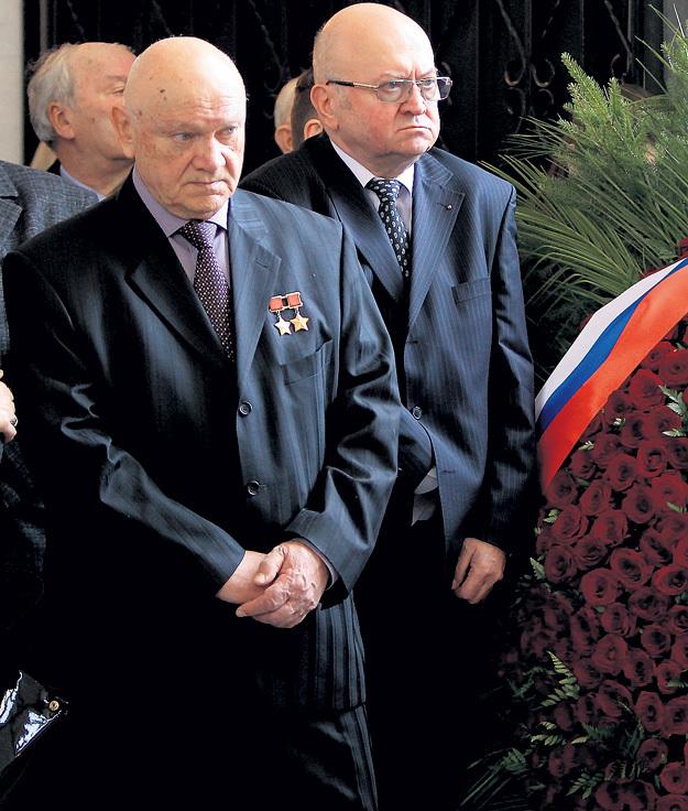 Космонавт Владимир ДЖАНИБЕКОВ и посол Чехии в России, космонавт Владимир РЕМЕК