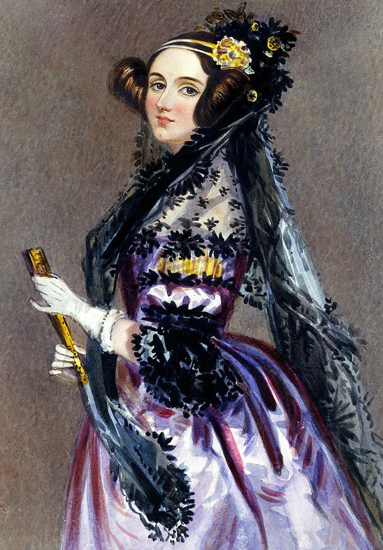 Ада Лавлейс. Фото: Википедия