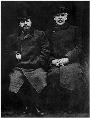 Создатели МХТ В.Немирович-Данченко и К.Станиславский. Фото: mxat.ru