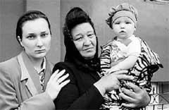 ОСИРОТЕВШАЯ СЕМЬЯ: жена Ольга, мама Галина Анатольевна, сынишка Кирилл
