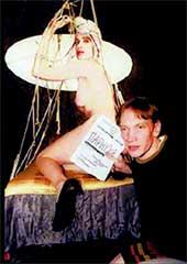 КИРИЛЛ ГАНИН: с актрисой из своего спектакля &#034Парнуха&#034