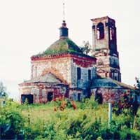 РАЗРУШЕННЫЙ ХРАМ: покоробил Веру Ивановну при ее первом приезде в деревню Улово