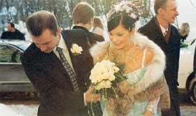 Свадьба ольги орловой и александра карманова фото