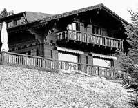 ШАЛЕ КАУЗОВЫХ В ГРИЙОНЕ: скрыто от любопытных глаз в горах Швейцарии