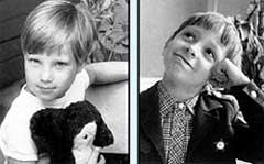 ИЗ СЕМЕЙНОГО АЛЬБОМА: Аня в шесть лет и первоклассник Даня
