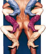ДАМСКИЕ САПОЖКИ &#034DIESEL&#034: лучше всего смотрятся на обнаженном мужчине