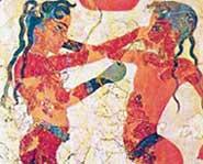 ДРЕВНЕГРЕЧЕСКАЯ МОЗАИКА: атлантов изображали краснокожими