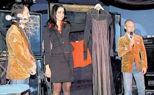 АУКЦИОН: за каждое платье Валерии просили минимум $500