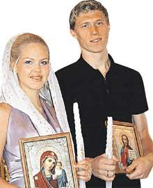 МАША И ПАВЕЛ: венчались в Томске