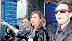 ПАРТНЕРЫ: Светлана Меткина по дружбе устроит Слейтеру персональную экскурсию