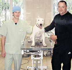 РЕМЕЗЕВ: благодарен ветеринару Денисову за спасение любимой Геры