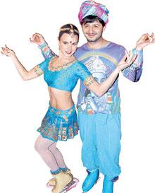 МАРИЯ ПЕТРОВА И МИХАИЛ ГАЛУСТЬЯН: индийский танец дался им нелегко