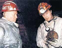 ЮРИЙ ЛУЖКОВ И ВАДИМ МИХАЙЛОВ: изучают фауну московского подземелья