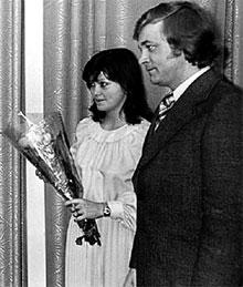 СВАДЬБА: Эвелина стала женой Евгения в 1978 году