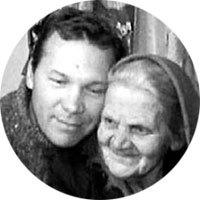 Анатолий с бабушкой Ульяной
