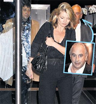 Одежду Кейт дарит сэр Филип (справа), а носит её ХИНС