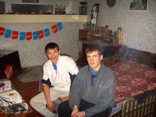 Зять Миша и сын Дима-разнорабочий