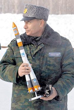 Владимир ПУТИН: «В последние десятилетия главным мотивом для развития космической отрасли была обороноспособность страны... Военный мотив остается и сегодня»