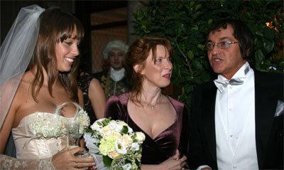 Дмитрий ДИБРОВ с невестой Полиной и тёщей Ириной Петровной