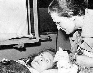 После автокатастрофы мать звезды Ирма БЕРНЕР день и ночь дежурила у постели дочери