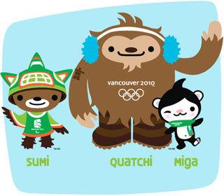 Символы Олимпиады-2010
