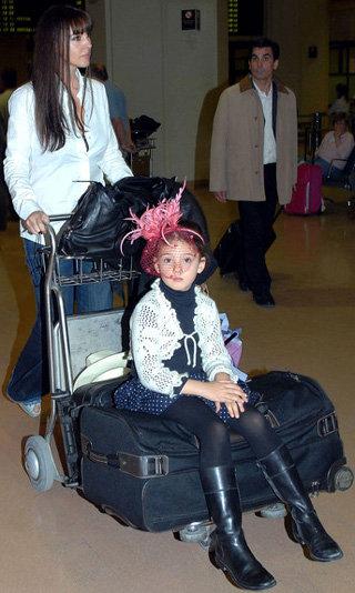 Моника с дочерью Девой