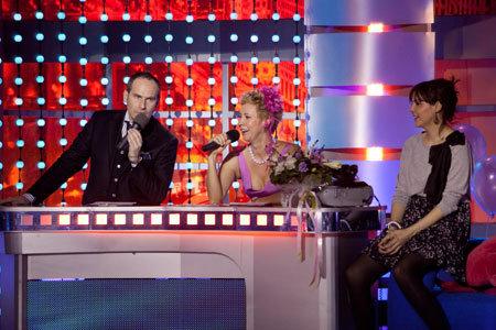 Ведущие шоу ШАЦ и ЛАЗАРЕВА позволили Ольге ШЕЛЕСТ посидеть на скамье запасных