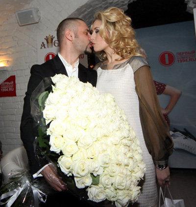 Анастасия ГРЕБЕНКИНА с мужем Юрием