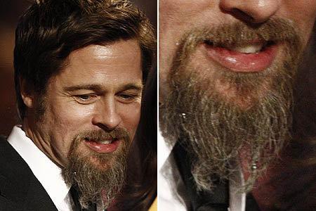Анджелина права: козлиную бородку Брэда трудно назвать сексуальной