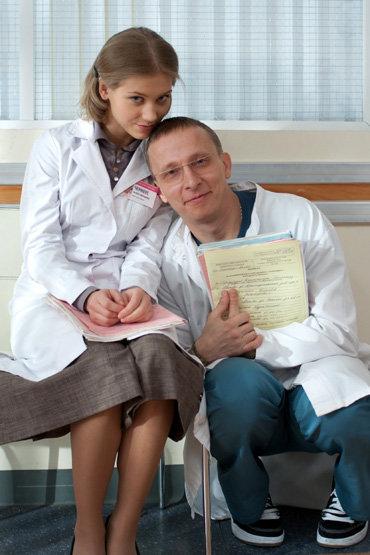 Кристина Асмус и Иван Охлобыстин