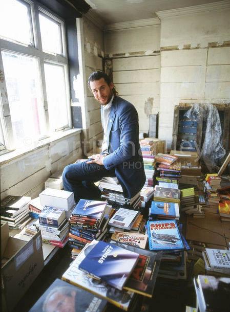 Дэвид Ротшильд в своей лондонской квартире. Фото: martinhartley.com