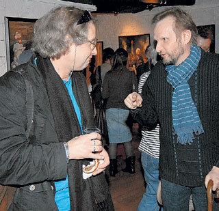Андрей ЖИТИНКИН пожаловался Вовочке, что фуршет для культурного мероприятия слабоват
