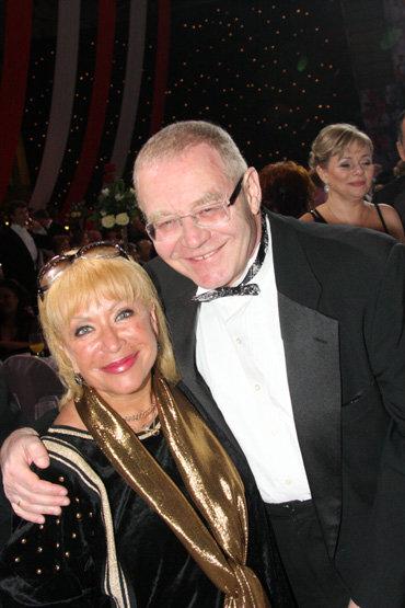 Александр ЖУРБИН с женой Ириной ГИНЗБУРГ
