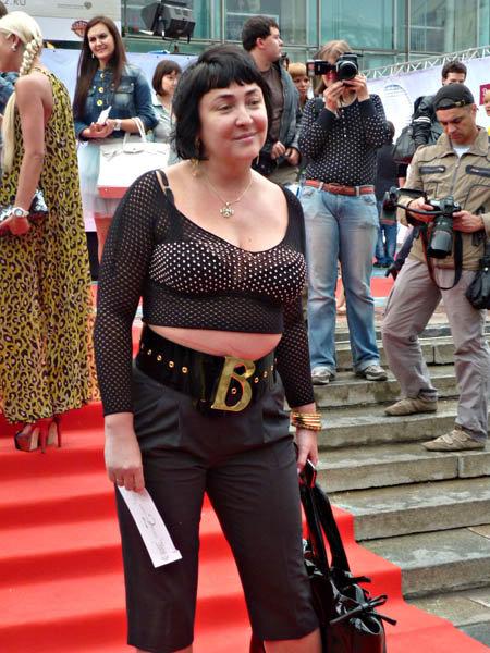 Лолита Милявская на премьере фильма