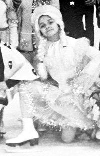 Маленькая Танюша с детства мечтала стать чемпионкой