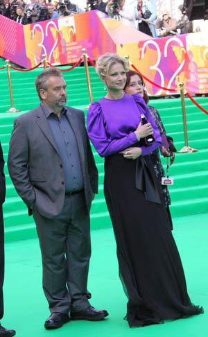 Люк Бессон и Мария Миронова