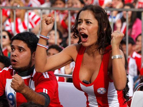 Ларисса Рикельме уже объявила себя парагвайской