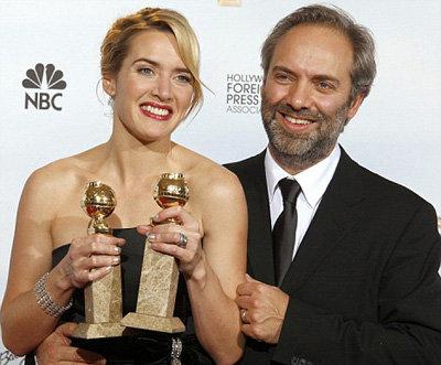 С режиссёром Сэмом Мендесом Кейт рассталась в марте этого года