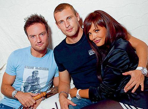 На свадьбу Мария и Ян обязательно позовут друга - чешского футболиста Мартина ИРАНЕКА (слева)