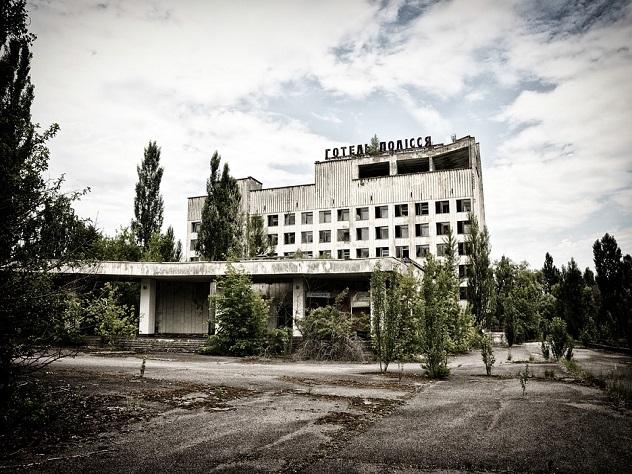 Открылся 1-ый хостел взоне отчуждения Чернобыльской АЭС
