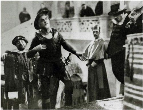 Кадр из фильма «Дон-Кихот», 1933 г.