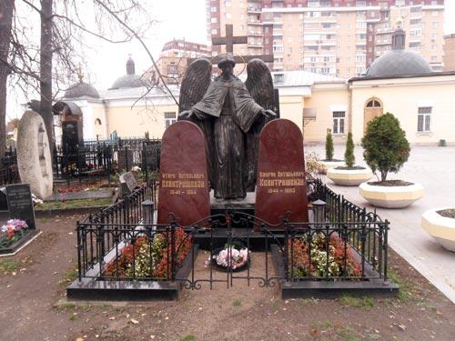 Могила Отари Квантришвили. wikimedia.org