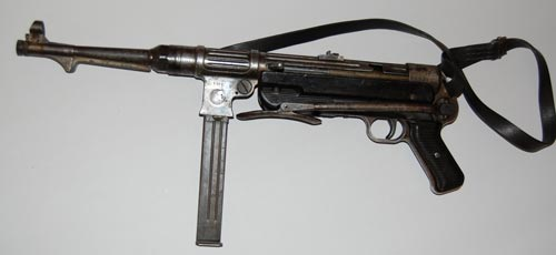 MP-38: самый распространенный немецкий автомат времен войны. Фото: wikimedia.org