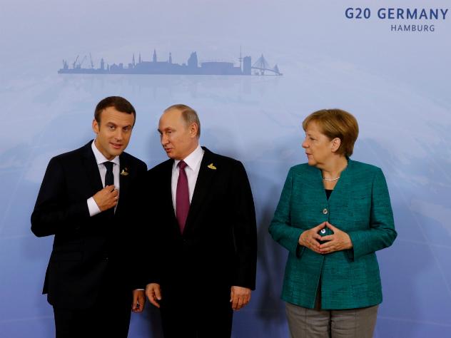 Обнародовано видео яркой реакции Меркель на слова Путина