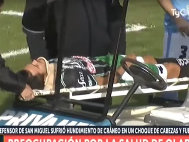Судья спас жизнь футболисту вовремя матча