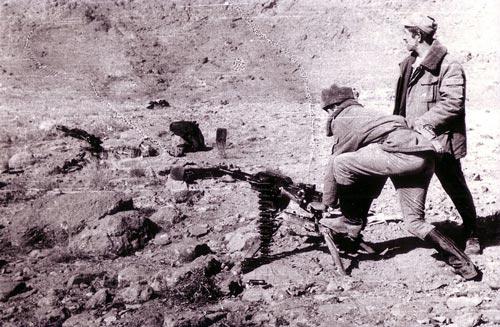 Советские солдаты проводят обучение. wikipedia