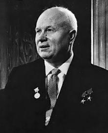 Н.С Хрущев. wikimedia