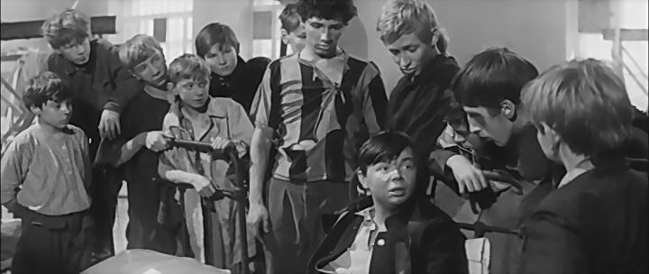 Кадр из фильма «Республика ШКИД» (реж. Г. Полока)